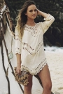 boho-elbow-sleeve-hollow-out-crochet-tunic-cover-up