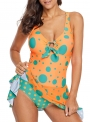 polka-dot-print-one-piece-swim-dress