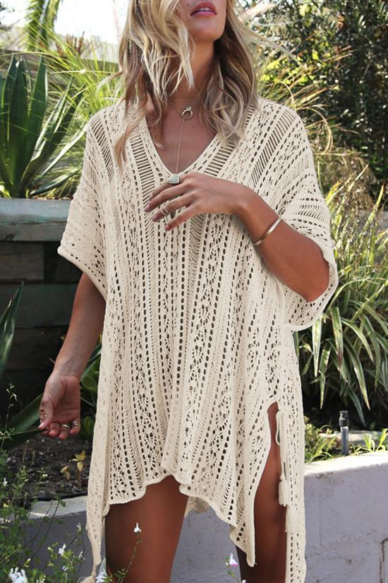 Crochet Tunic Coverup choichic.com