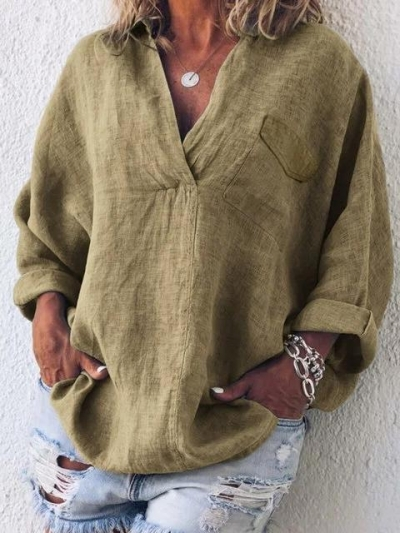 cotton-linen-shirt-collar-long-sleeve-solid-casual-shirts-tops