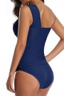 one-shoulder-ruched-navy-tankini-set