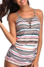 powerful-love-stripe-print-tankini-set