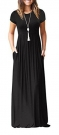 short-sleeve-loose-plain-maxi-dresses-casual-long-dresses-with-pockets