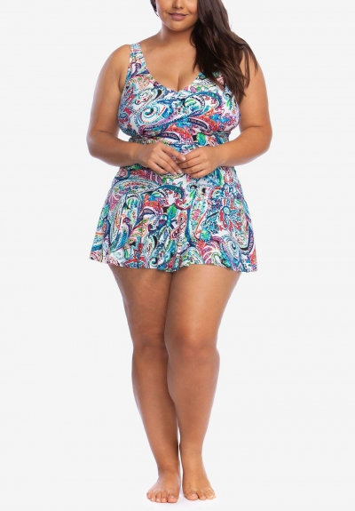 surplice-skirted-one-piece