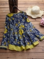 floral-printed-fake-two-piece-vintage-blouse