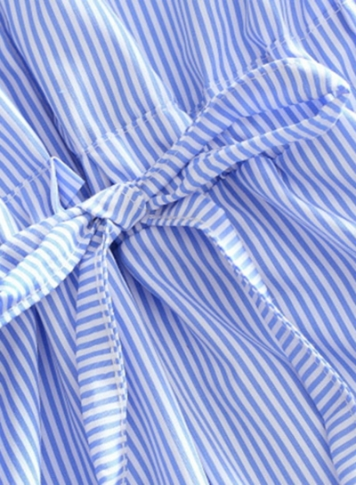 stripped-cotton-flip-off-collar-wear-to-work-shirts-dresses