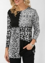 button-detail-round-neck-printed-blouse