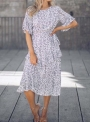 round-neck-ruffled-sleeves-floral-dress